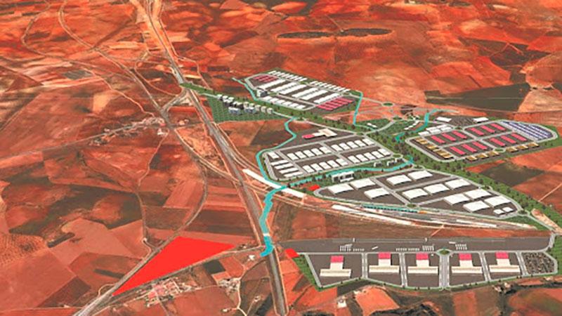 La Junta licita las obras de urbanización de la primera fase del Puerto Seco de Antequera