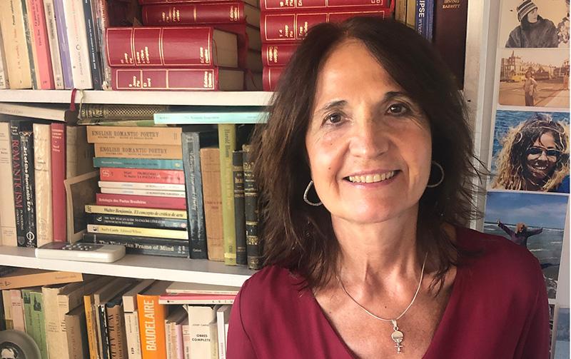La escritora catalana Nuria Perpinyá, ganadora del XII Premio Málaga de Ensayo José María González Ruiz'