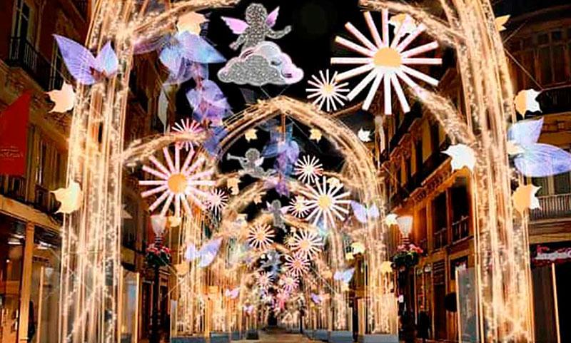 Irresponsabilidad del Ayuntamiento y de miles de malagueños en el encendido de la iluminación de Navidad