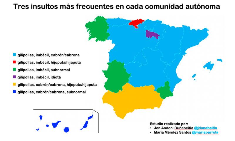 ¿Cómo insultan los españoles?
