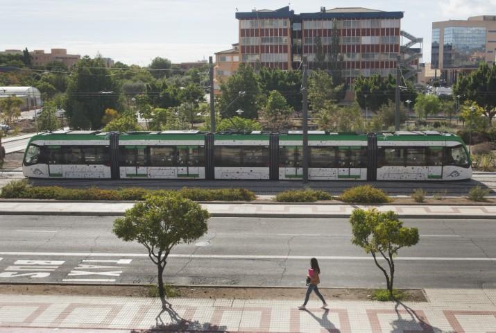 Metro de Málaga transportó a 3,6 millones de viajeros durante 2020 a pesar de la pandemia