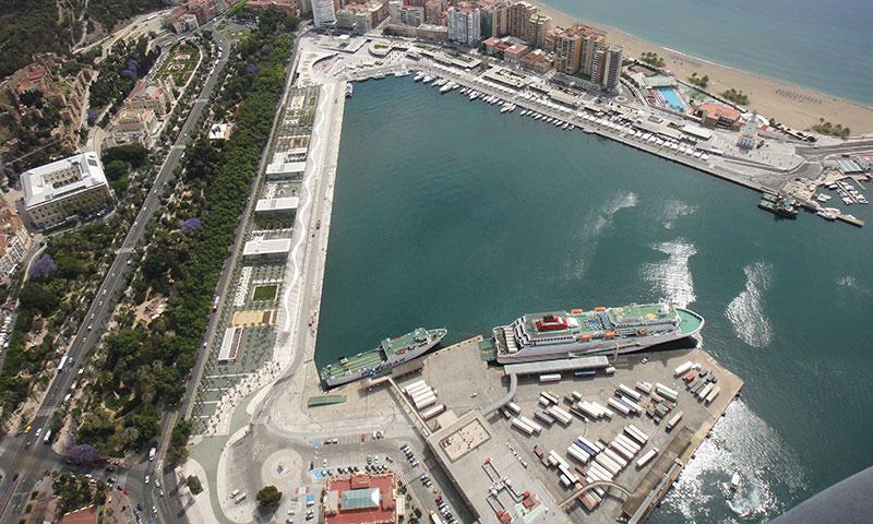La Autoridad Portuaria regulariza dos concesiones otorgadas al Ayuntamiento de Málaga