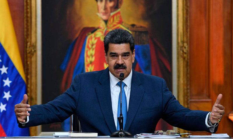 El Gobierno español con el dictador Maduro