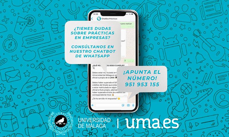 La UMA utiliza inteligencia artificial para resolver dudas de estudiantes en prácticas