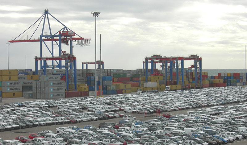 El tráfico de mercancías roza los 3 millones de toneladas en un año clave para garantizar la cadena de suministro