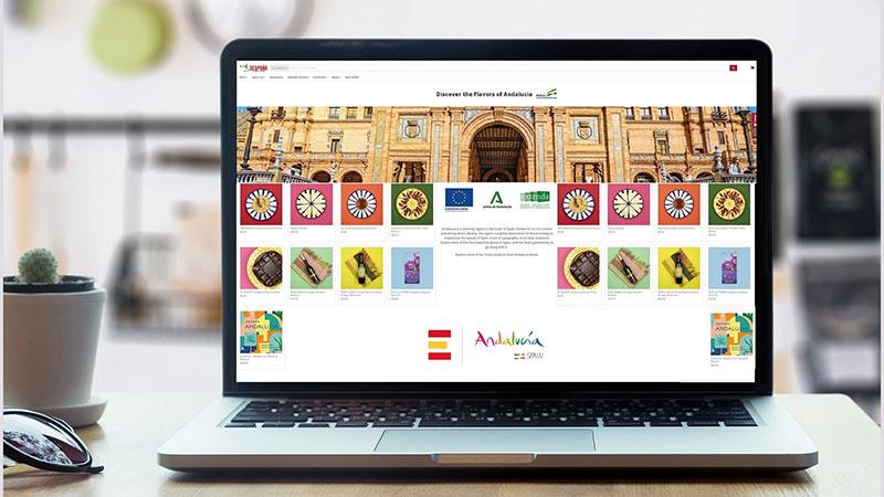 Extenda potencia la venta de alimentos andaluces en Estados Unidos, a través de una promoción online con uno de los principales importadores del país