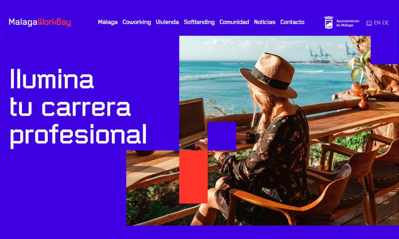 """El Ayuntamiento de Málaga lanza la campaña """"Málaga WorkBay"""" para teletrabajadores nacionales e internacionales"""