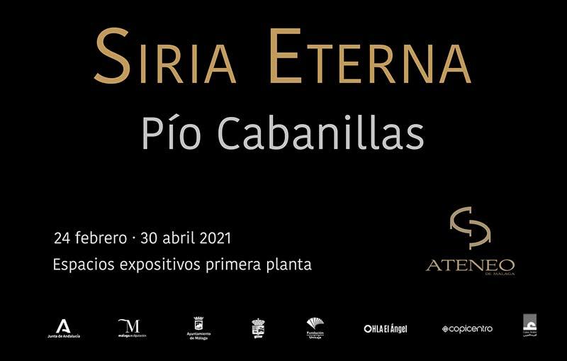 Inauguración exposición SIRIA ETERNA, de Pío Cabanillas