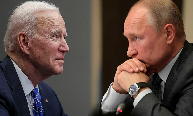 Biden calls Putin a murderer and the US press does not criticize him