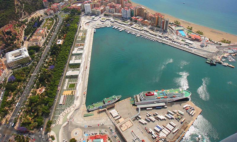 Ya hay sentencia del atraque sur del puerto de Málaga