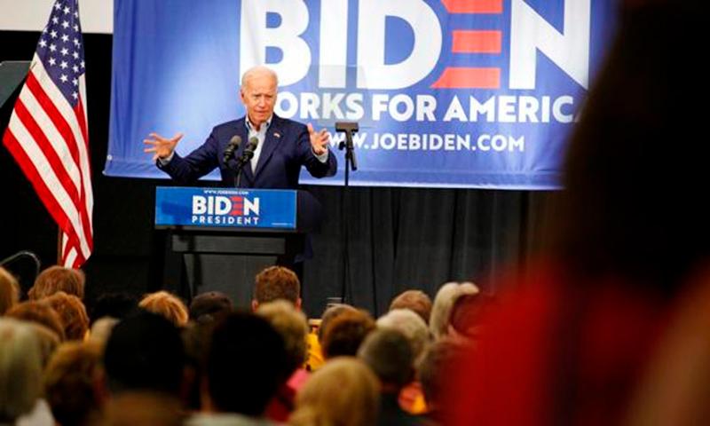 Biden volcado en la defensa del aborto