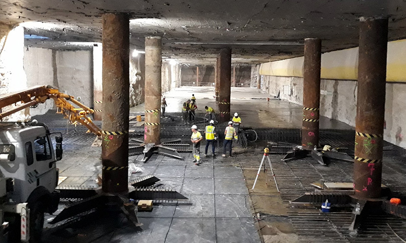 Adjudicada la ejecución del montaje de vía del Metro de Málaga entre Renfe y Atarazanas