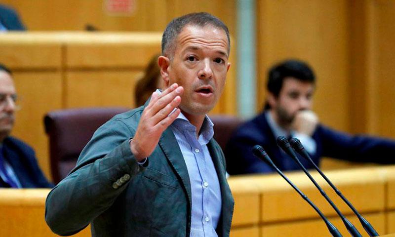 El portavoz del PSOE en el Senado no dice la verdad sobre el derecho de huelga