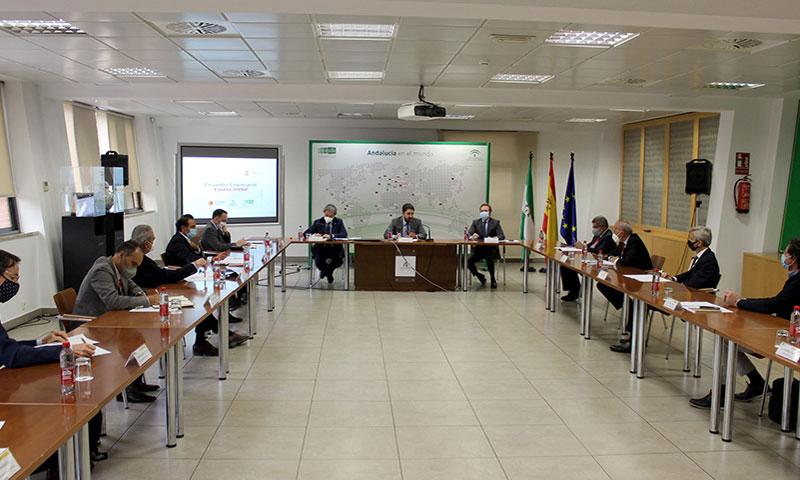 La Junta y el Gobierno central impulsan la Marca Andalucía ligada a la Marca España