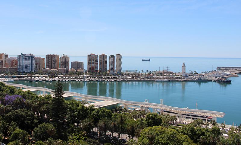 El puerto de Málaga presenta una propuesta al proyecto europeo Poseidón para utilizar energía fotovoltaica