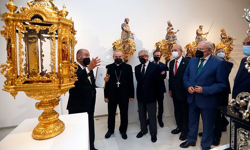 Inauguración de la exposición 'Un siglo de esplendor' celebrada en el Centro Cultural Fundación Unicaja de Málaga