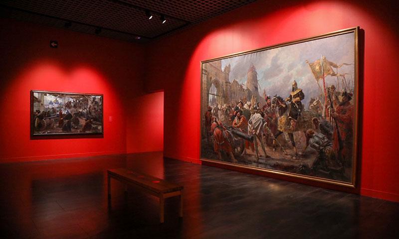El Museo Ruso presenta la exposición anual Guerra y Paz en el Arte Ruso y las temporales Iván Aivazovsky y los pintores marinistas en Rusia y Lev Tolstói