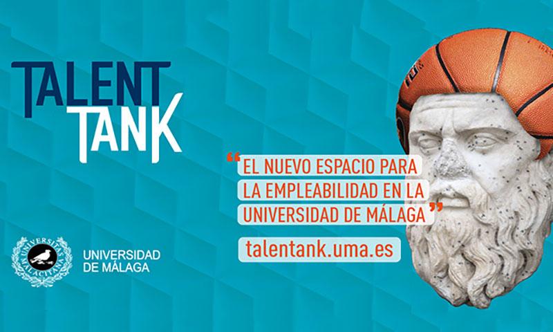 'Talent Tank', nuevo espacio web para la empleabilidad en la Universidad de Málaga