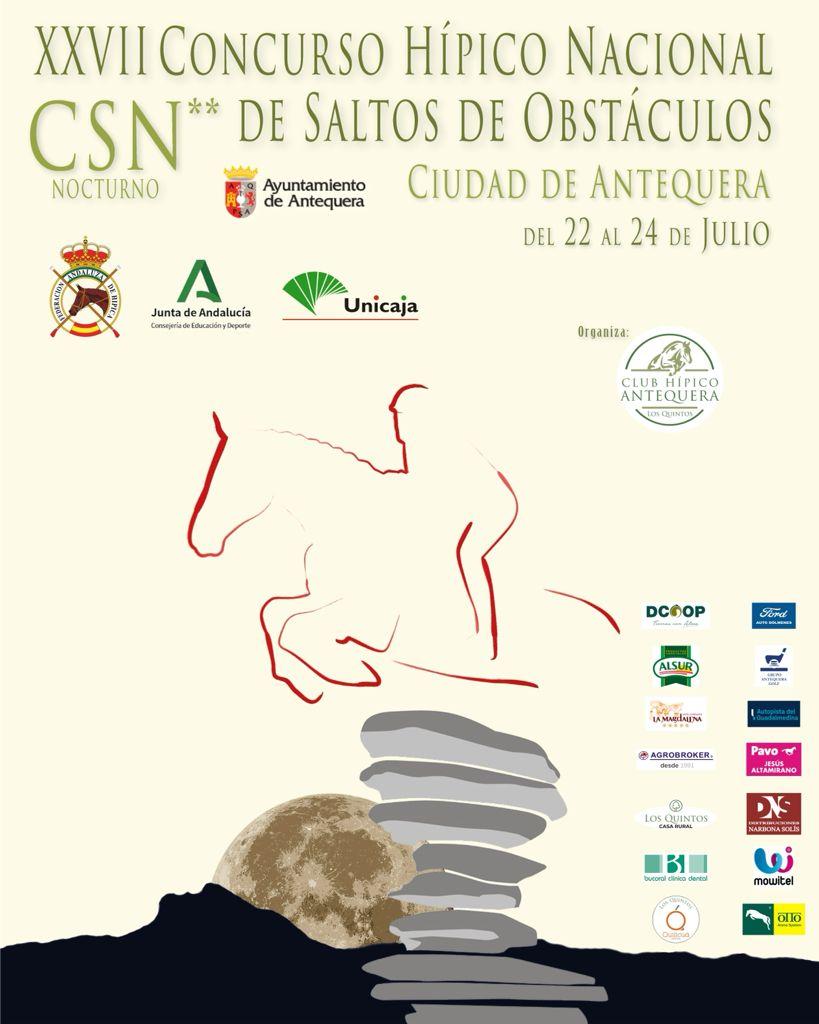 El Concurso Nacional de Saltos 'Ciudad de Antequera', una realidad 23 años después