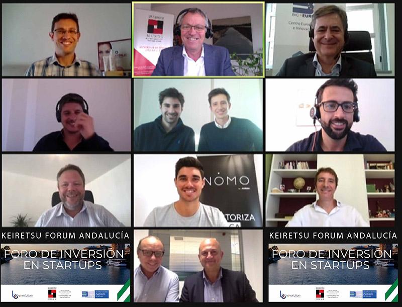 """Startups andaluzas consiguen financiación privada en el Foro de Inversores """"Keiretsu Forum Andalucía»"""