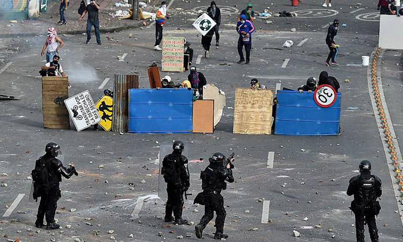 La ONU con los violentos de Colombia y contra el Gobierno