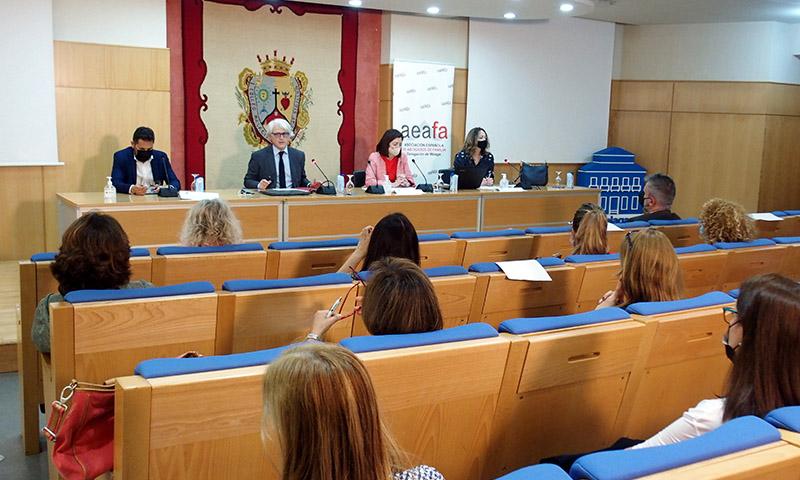 Las XIII Jornadas de la Delegación en Málaga de la AEAFA abordan la práctica de sucesiones en el derecho de familia