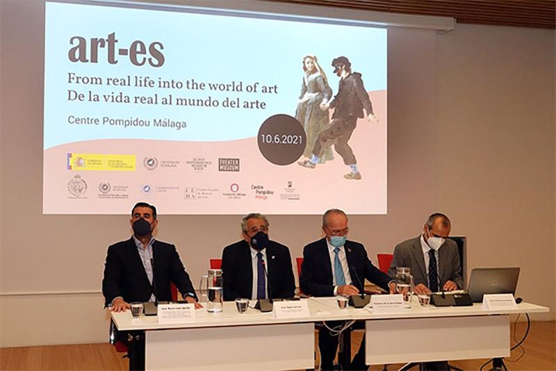 De la vida real al mundo del arte en la exposición virtual Art-Es