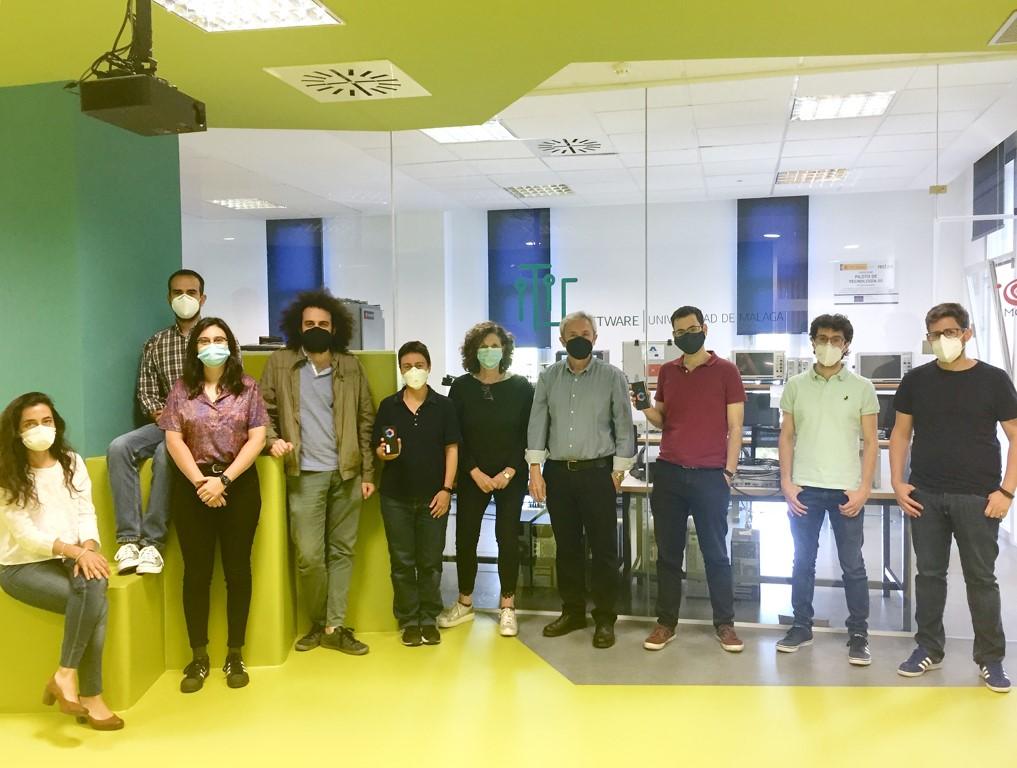 El grupo 'Morse' prueba con éxito un sistema de alarmas sobre la red móvil de Genasys