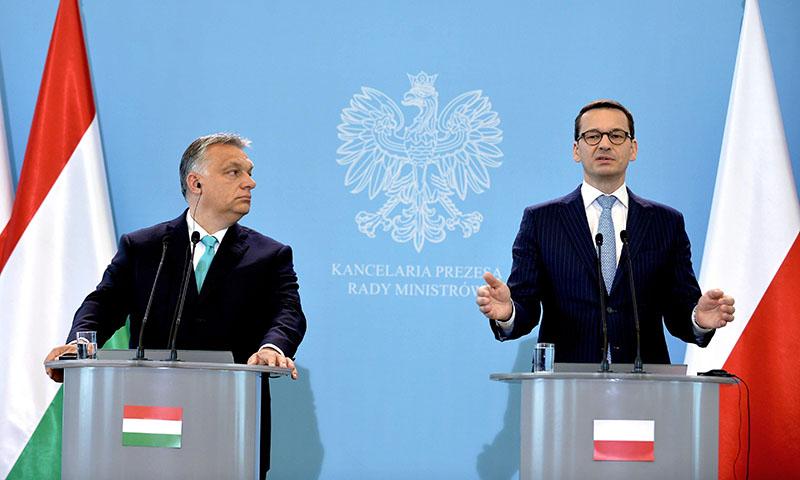 Hungría y Polonia desafían a los burócratas de Bruselas