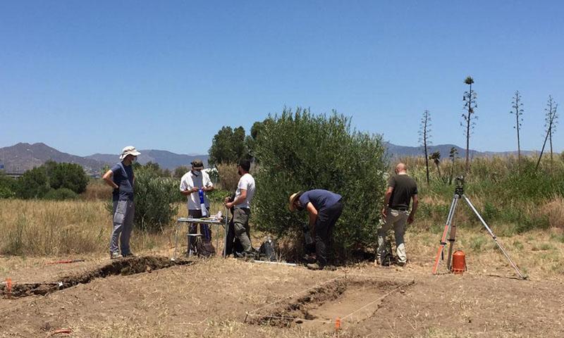 La UMA inicia las excavaciones en el yacimiento fenicio del Cerro del Villar