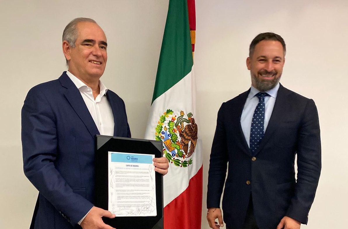Vox suma apoyos a la Carta de Madrid contra las dictaduras comunistas iberoamericanas