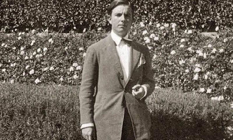 El poeta José María Hinojosa, asesinado