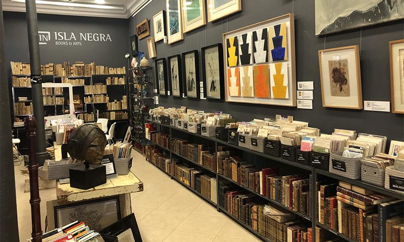 Entrevista con Antonio Durán, fotógrafo y propietario de la librería y galería Isla Negra